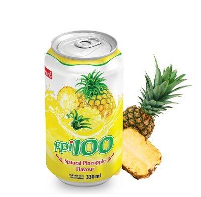 FPI100 Natural Pineapple Flavouri (can of 330ml)