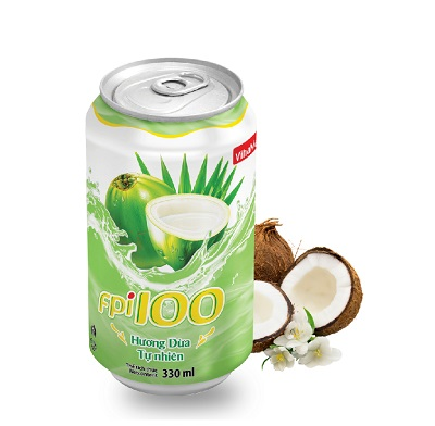 FPI100 Natural Coconut Flavour (can of 330ml)