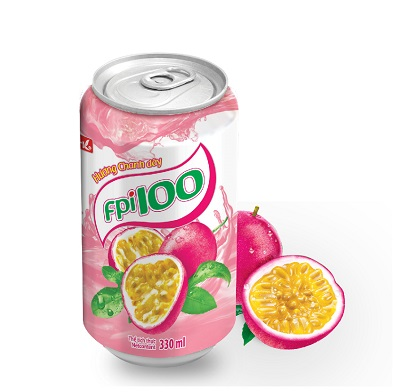 FPI100 Passion fruit drinks (can of 330ml)
